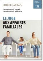 Juge affaire familiale